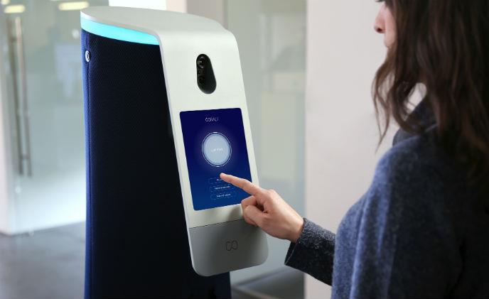 Robot an ninh văn phòng thông minh tương tự xe tự lái